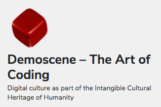 Breakthrough of Digital Culture: Finland accepts the Demoscene on its national UNESCO list of intangible cultural heritage of humanity - Demoscene - The Art of Coding 1
